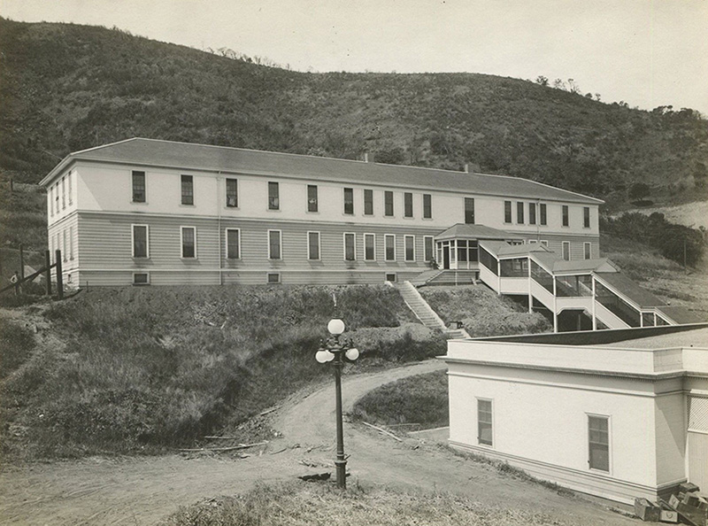 Angel Island Immigration Station, 1910.